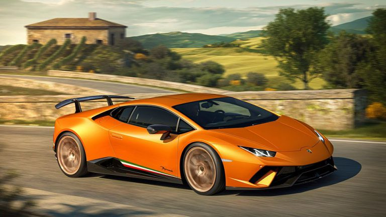 Lamborghini sorgt für Performance im Huracan