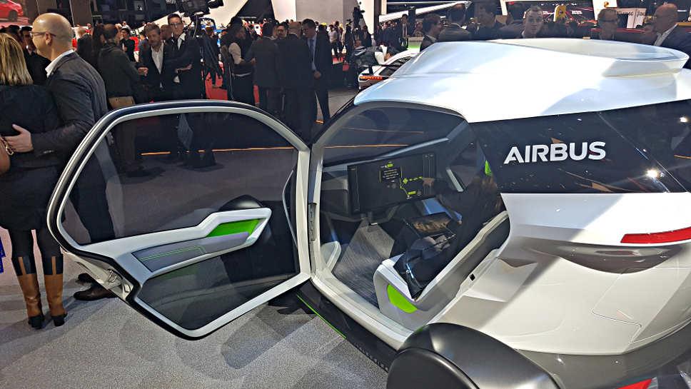 Italdesign Airbus Flugauto