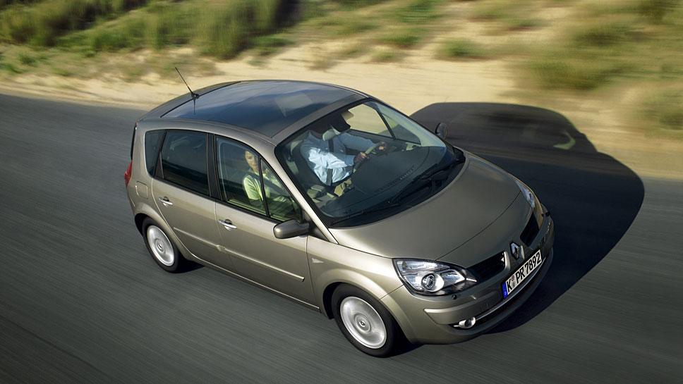 Der Renault Scenic begründete das Segment der kompakten Vans.