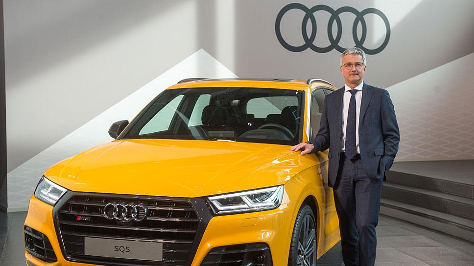 Audi-Chef Rupert Stadler bleibt von den erneuten Personalwechseln unberührt