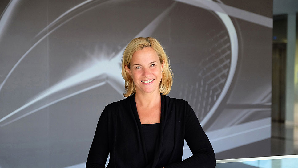 Britta Seeger ist bei Mercedes neuer Vorstand für Vertrieb.