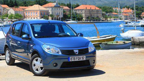 2008 führte Dacia den Sandero in den Markt ein