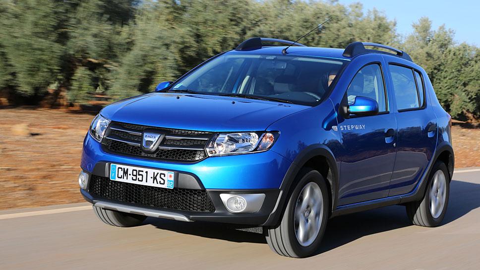Nicht nur der Dacia Sandero Stepway befindet sich auf dem Erfolgsweg