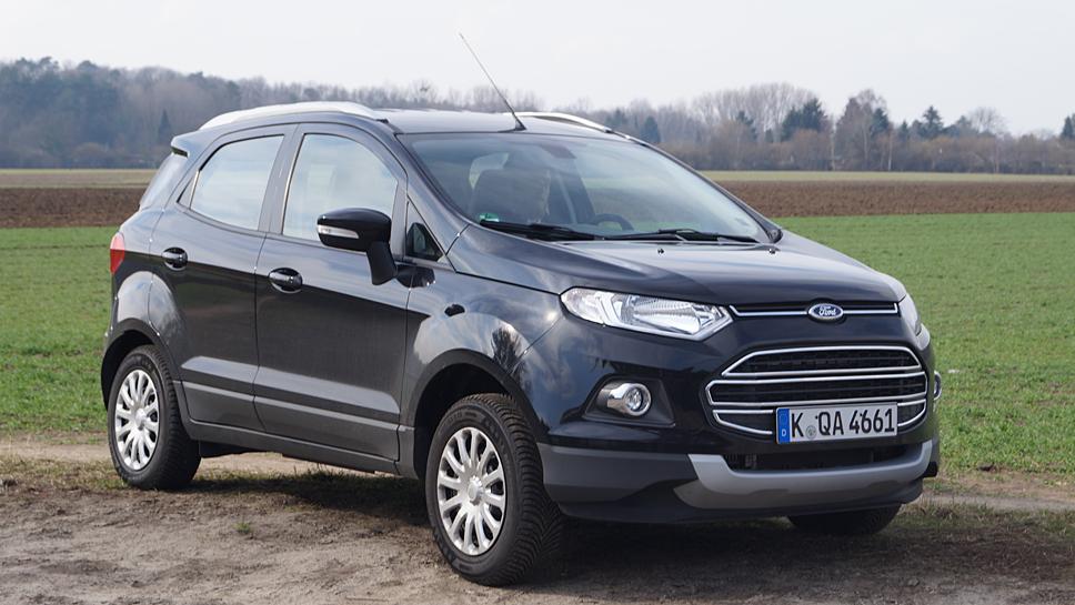 Der Ford Ecosport wird derzeit stark rabattiert