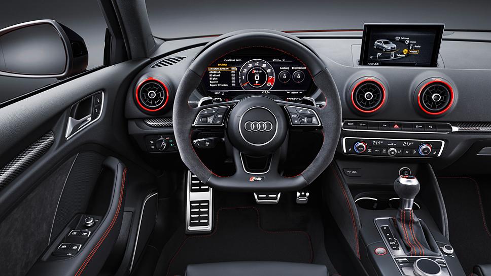 Audi hat dem RS3 400 PS eingepflanzt