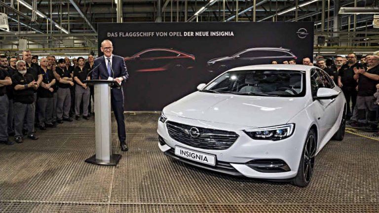 Opel startet Serienproduktion des Insignia