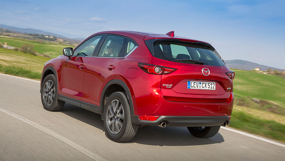 Mazda hat den CX-5 nur äußerlich scheinbar unverändert gelassen