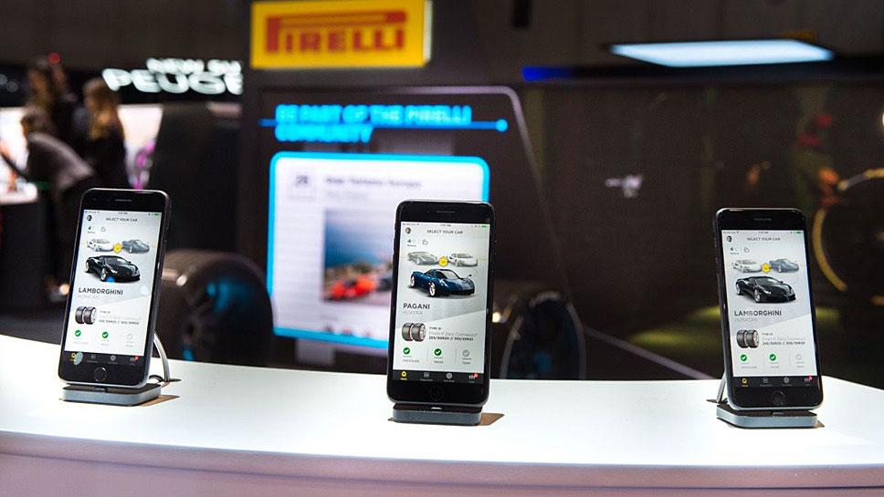 Pirelli verbindet Reifen mit Cloud und App