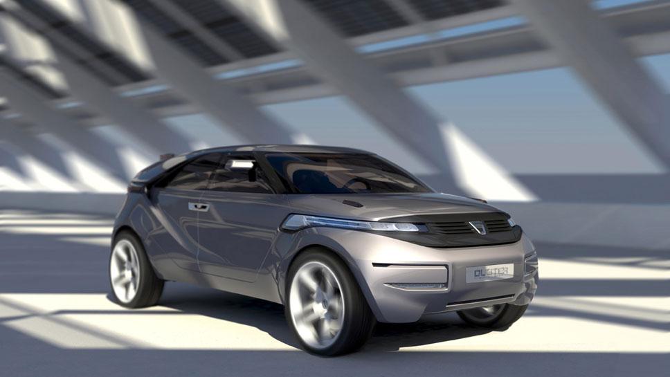 Das Dacia Duster Concept feierte Premiere in Genf 2009