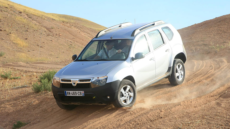 Der Duster mauserte sich zum beliebtesten Dacia-Modell