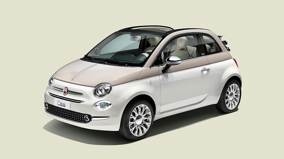 Den Fiat 500 60th Anniversary gibt es nur 560 Mal