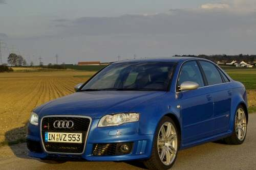 Audi RS4: Das pure Vergnügen