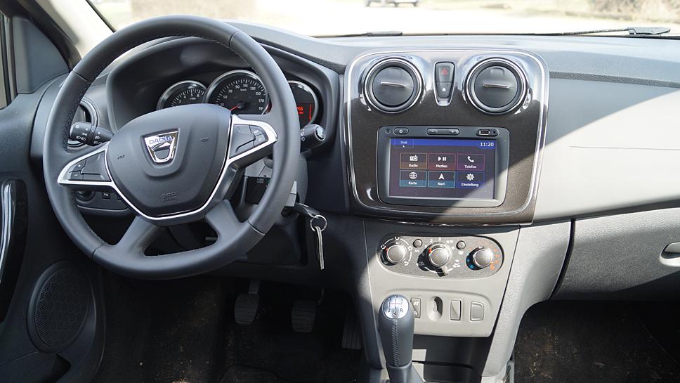 Dacia hat dem Sandero viel Wertigkeit zukommen lassen
