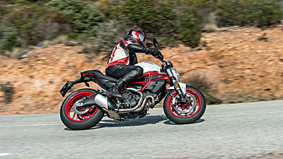 Die Ducati Monster 797.