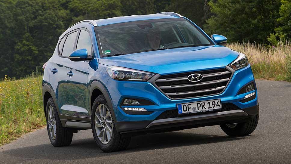 Hyundai wertet den Tucson zum Sondermodell Advantage auf