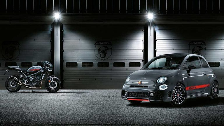 Abarth und Yamaha pimpen Fiat 500