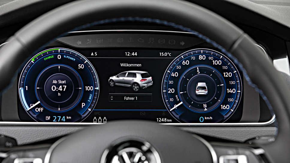 VW e-Golf neu VW
