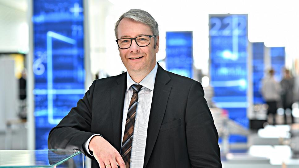 ZF-Chef Stefan Sommer.