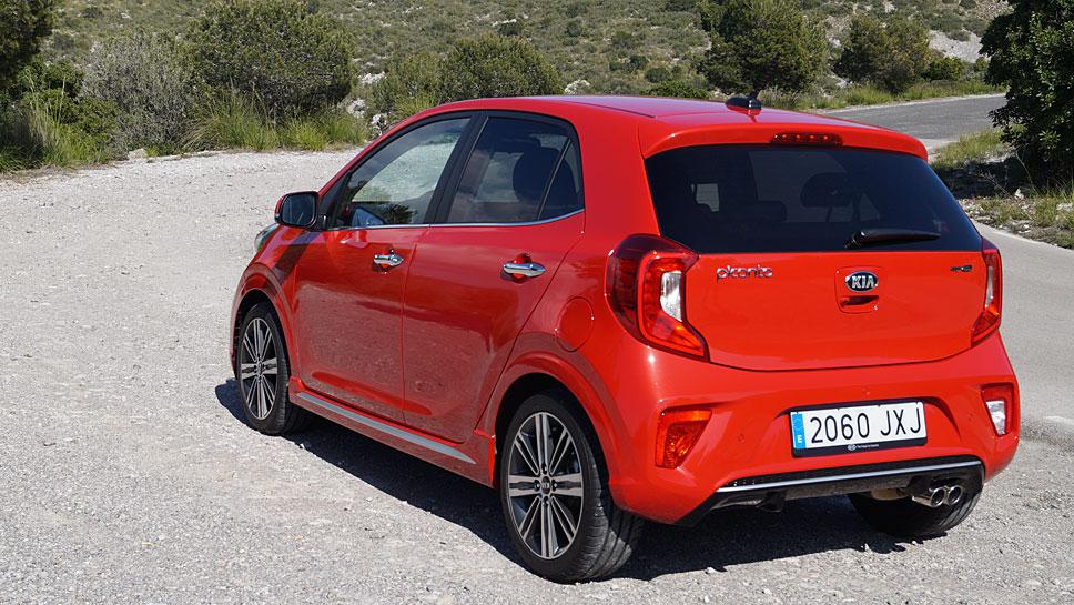 Der Kia Picanto glänzt vor allem in der Variante GT Line