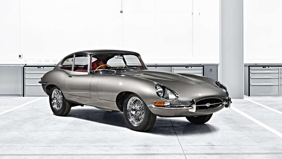 Der Jaguar E-Type Reborn