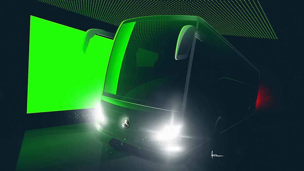 Der Mercedes Turismo RHD kann individuell eingerichtet werden