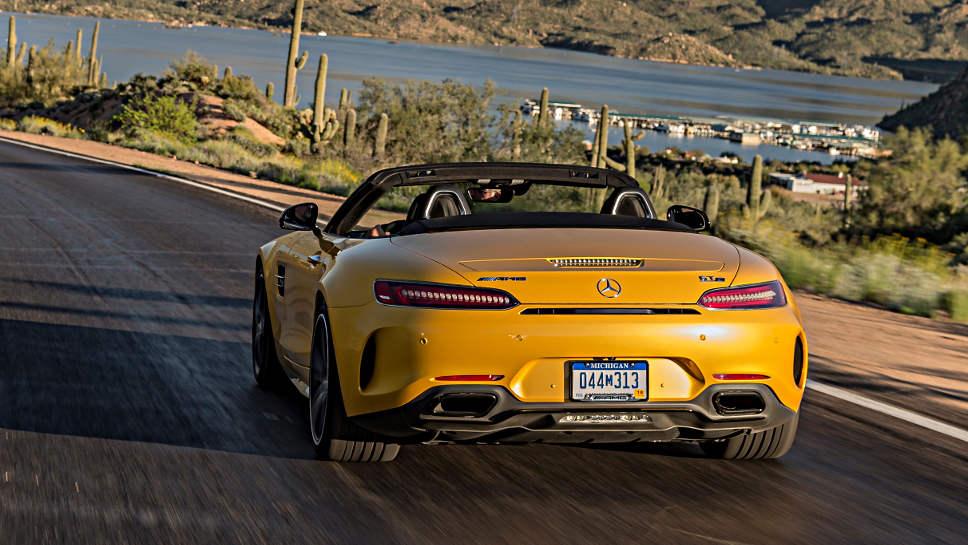 Mercedes GT Roadster neu Aufmacher Daimler