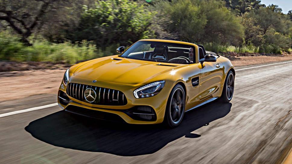 Der GT Roadster von Mercedes-AMG sorgt für viel Spaß