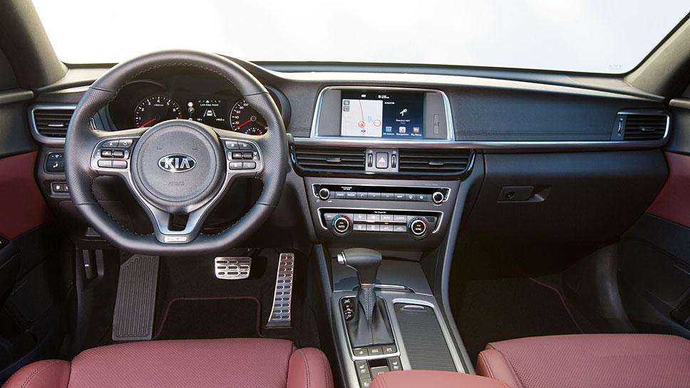 Kia hat den Optima Sportswagon GT auf europäische Ansprüche zugeschnitten