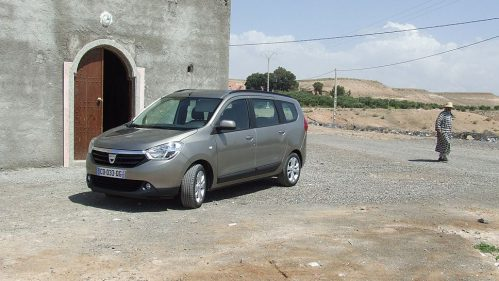 Dacia schickte den Lodgy 2012 an den Start
