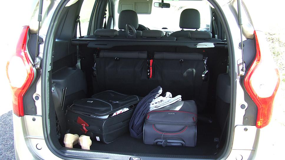 Dacia schickte den Lodgy 2012 an den Start