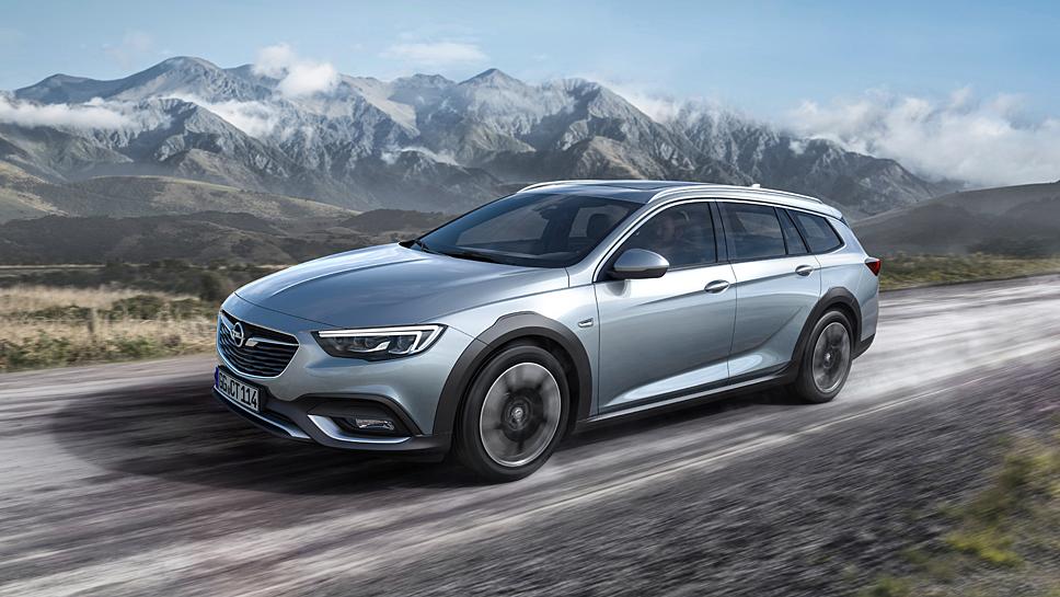 Der Opel Insignia Country Tourer wird in Frankfurt enthüllt
