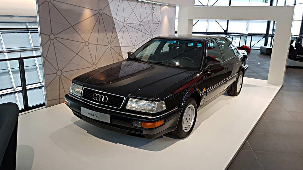 Erste Audi mit ASF Karosserie neu Aufmacher AG/Mertens