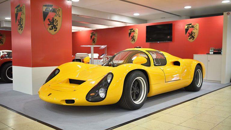 Kreisel belebt Porsche 910 wieder