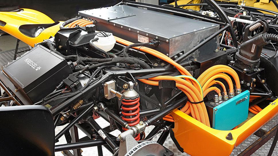 Kreisel hat den Porsche 910 als Evex 910e wiederbelebt