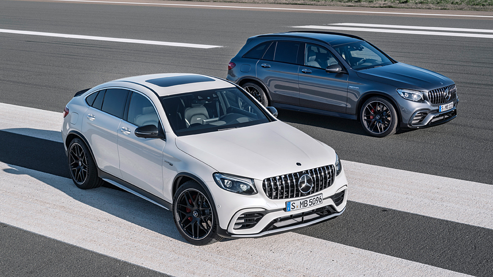 Mercedes-AMG fügt dem GLC ein Plus an Leistung zu