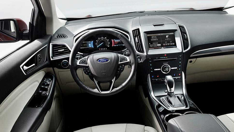 Der Ford Edge spielt auf der Langstrecke seine Stärken aus