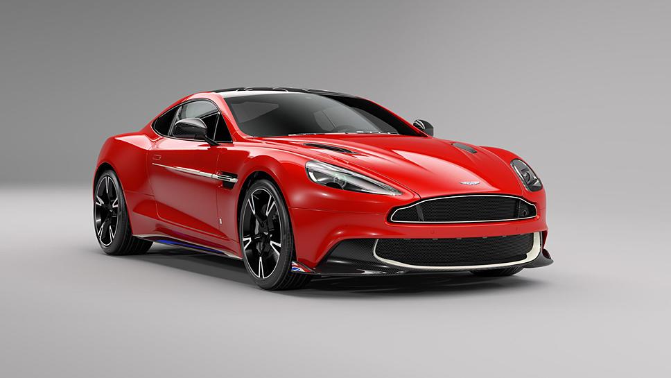 Lediglich zehn Mal legt Aston Martin den Vanquish S Red Arrows Edition auf