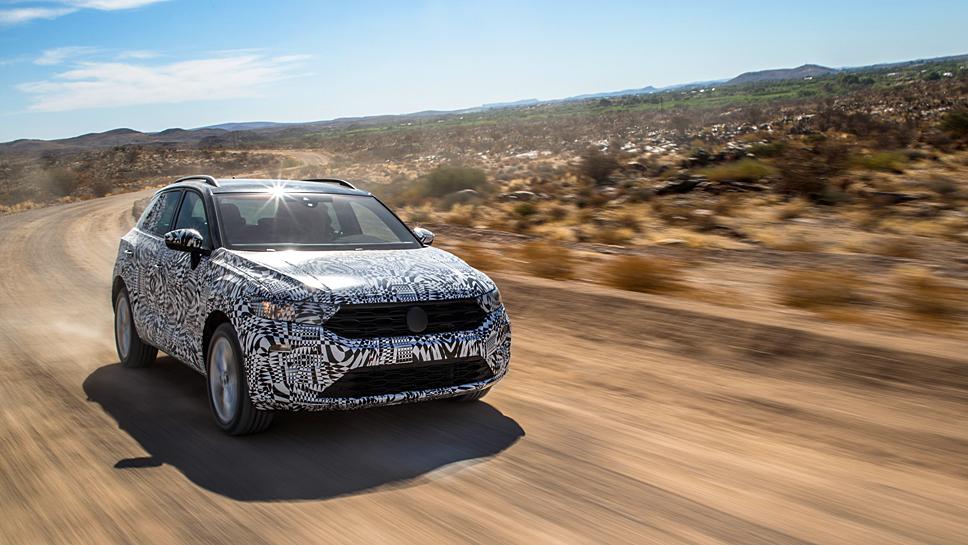 Der VW T-Roc orientiert sich am Golf