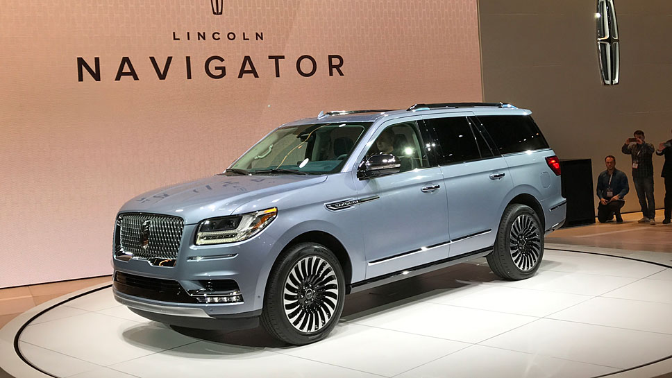 Lincoln bringt den neuen Navigator