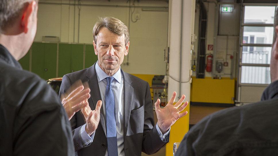 Uwe Hochgeschurtz, Chef von Renault Deutschland