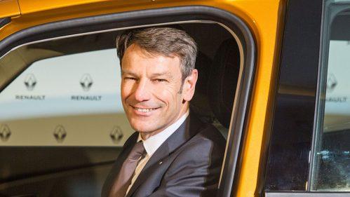 Uwe Hochgeschurtz, Vorstandsvorsitzender der Renault Deutschland AG