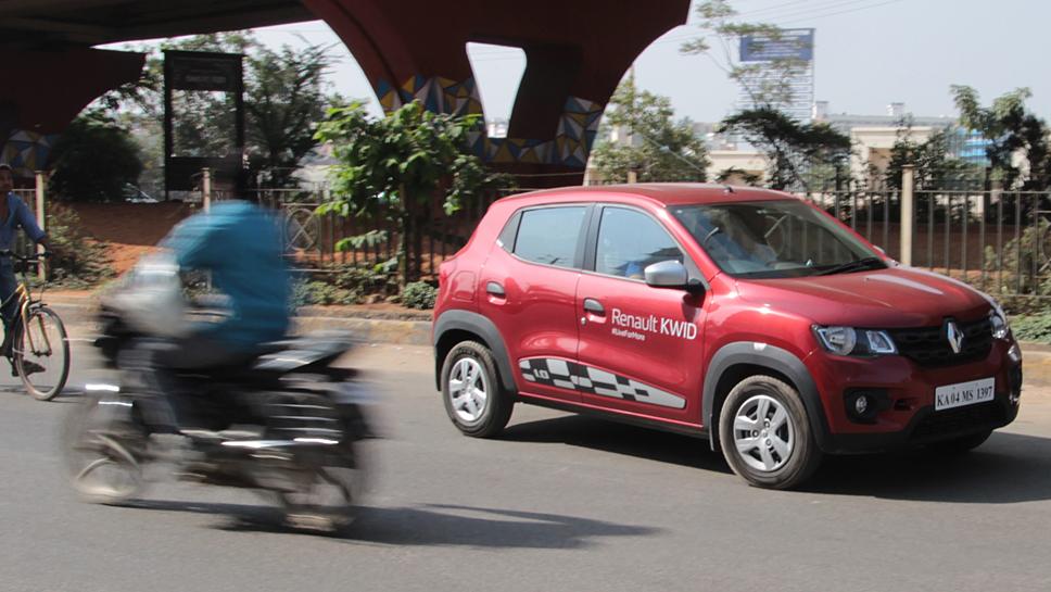 Der Renault Kwid ist in Indien ein Erfolg