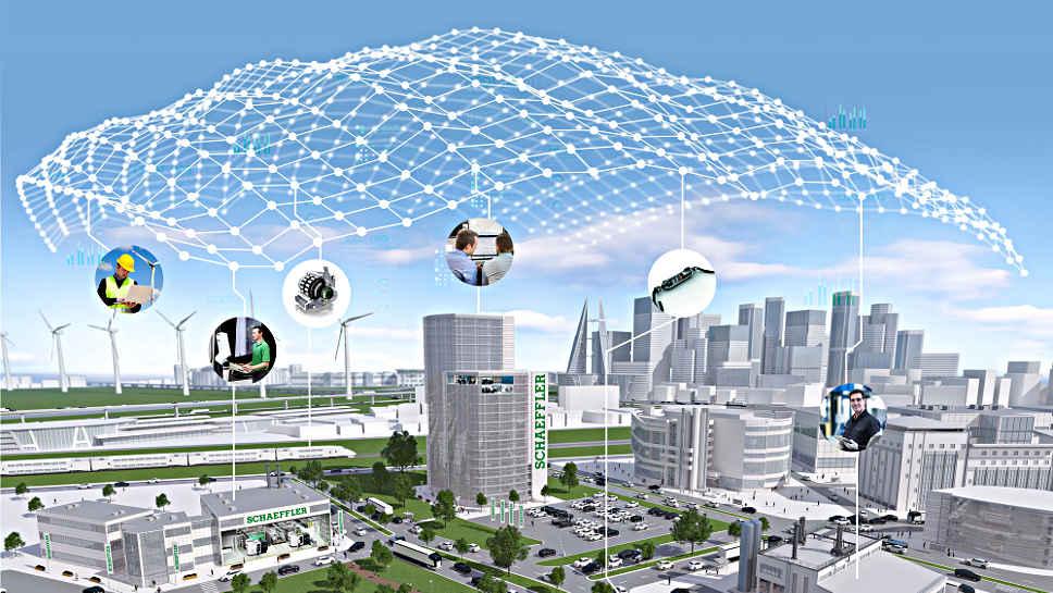 Digitale Dienstleistungen durch Vernetzung von Betriebsdaten
