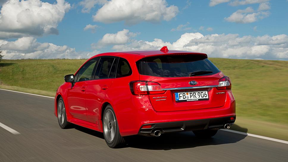 Der Subaru Levorg sticht aus der Masse der Kombis heraus