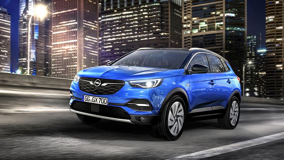 Opel feiert mit dem Grandland X auf der IAA Weltpremiere