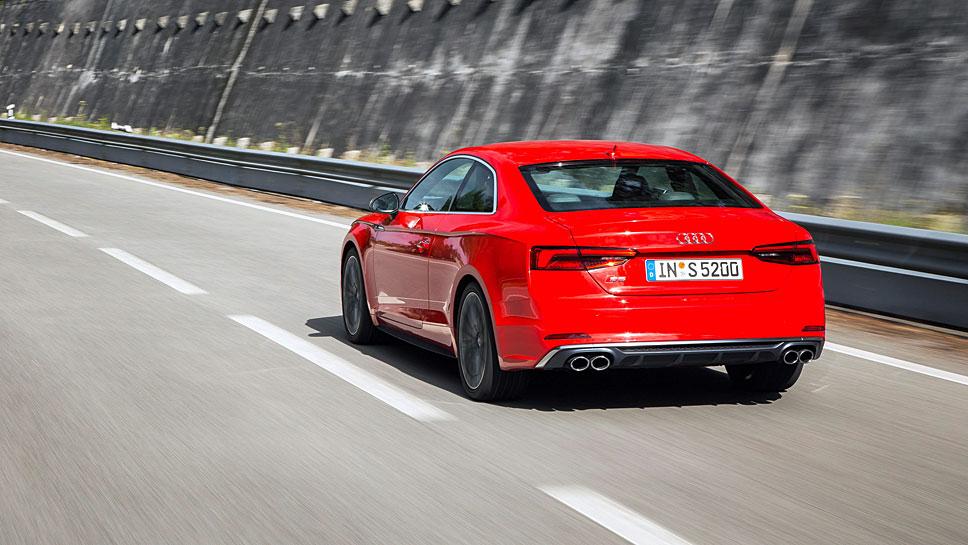 Das Audi S5 Coupé ist zeitlos schön anzusehen