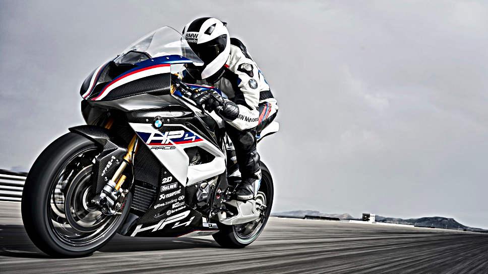 Die neue BMW HP4 Race besitzt keine Straßenzulassung.