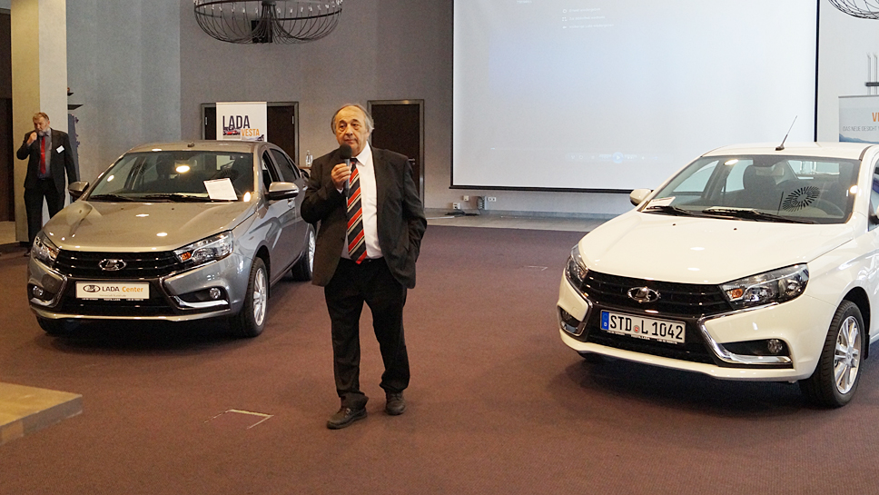 Dieter Trzaska, Chef von Lada-Deutschland