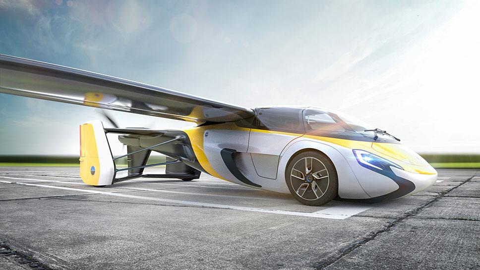 Aeromobil hat seine Serienversion vorgestellt