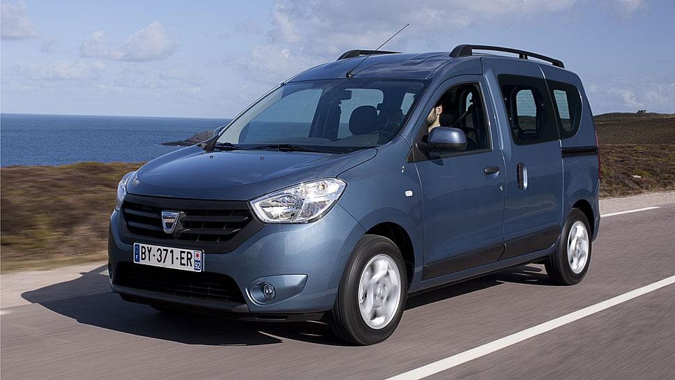 Mit dem Dokker stieg Dacia 2012 ins Segment der Hochdachkombis ein